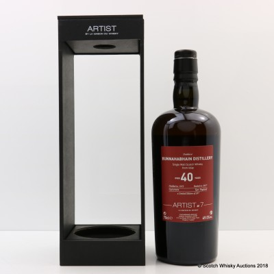 Bunnahabhain 1975 40 Year Old Artist Series #7 By La Maison du Whisky