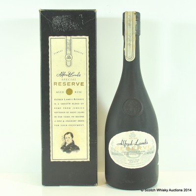 Alfred Lamb's 8 Year Old Reserve Rum