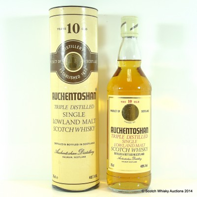 Auchentoshan 10 Year Old Old Style 75cl