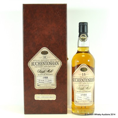 Auchentoshan 1988 15 Year Old