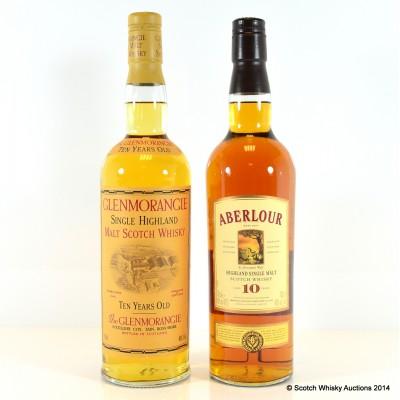 Aberlour 10 Year Old & Glenmorangie 10 Year Old