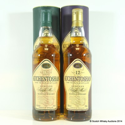 Auchentoshan Select & Auchentoshan 12 Year Old
