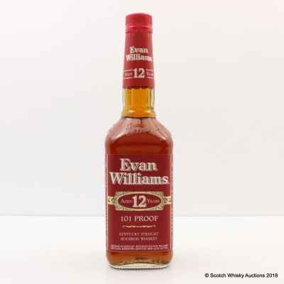 Evan Williams 12 Year Old 101° 75cl