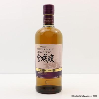 Nikka Miyagikyo Rum Wood Finish