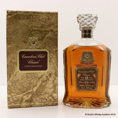 Canadian Club Classic 12 Year Old 75cl
