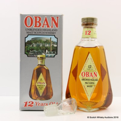 Oban 12 Year Old Decanter 75cl