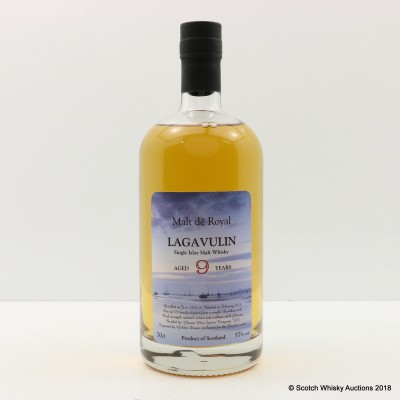 Lagavulin 2008 9 Year Old Malt de Royal