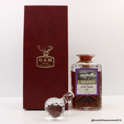 Linkwood 48 Year Old Gordon & MacPhail Crystal Decanter 75cl