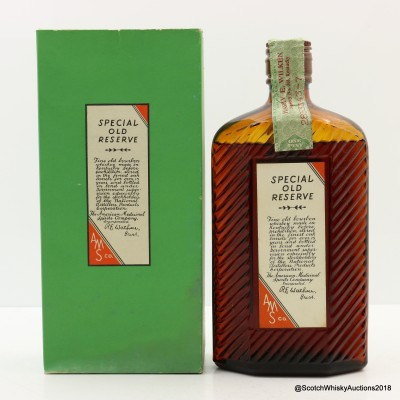 Harry E Wilken 1917 American Medicinal Spirits Company Prohibition Era Bourbon 1 Pint