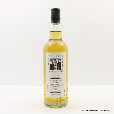 Kilkerran 2009 Distillery Bottling