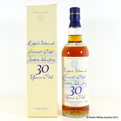 Arran Royal Island 30 Year Old Blend