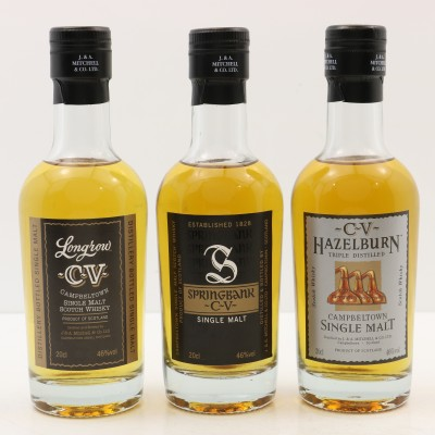 Campbeltown Malts Collection 3 x 20cl