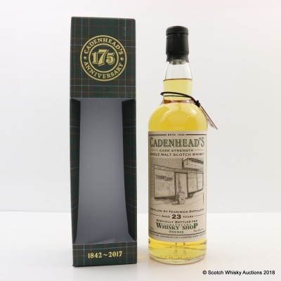 Teaninich 1993 23 Year Old For Cadenhead's Shop Odense