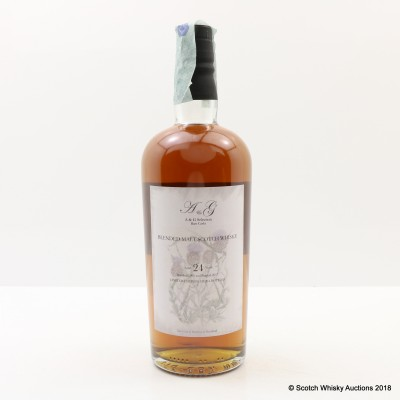 A & G Selection Blended Malt 1993 24 Year Old Whisky Broker