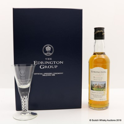 Edrington Reserve with Glass Set for Official 1998 Opening Ceremony 35cl