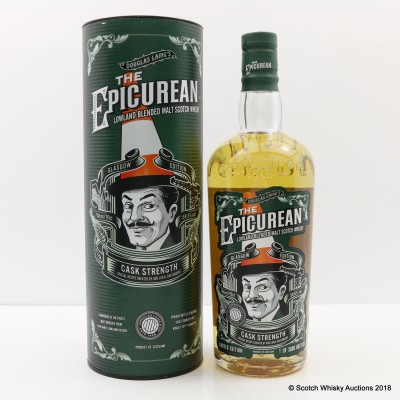 Epicurean Cask Strength Glasgow Edition