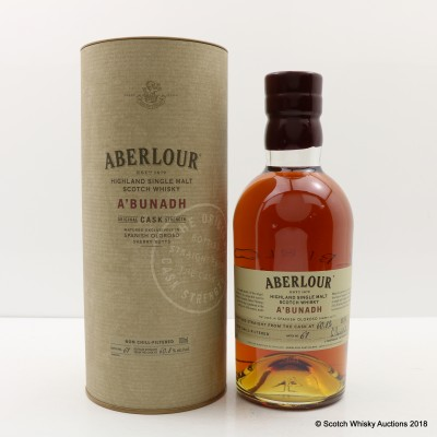 Aberlour A'Bunadh Batch #61