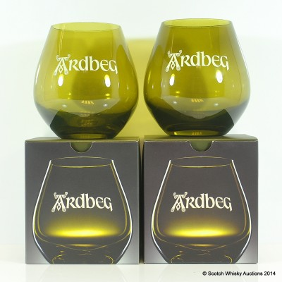 Ardbeg Glasses x 2