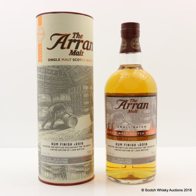 Arran Rum Cask Finish
