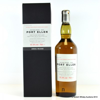 Port Ellen 3rd Annual Release 1979 24 Year Old £400 Reserve