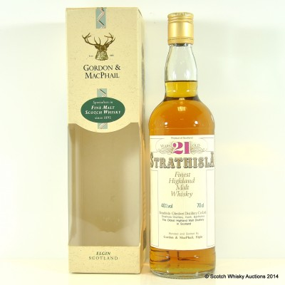 Strathisla 21 Year Old G&M £100 Reserve