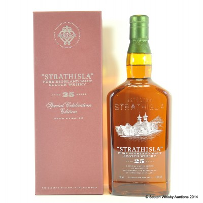 Strathisla Special Celebration Edition 25 Year Old