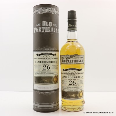 Cameronbridge 1991 26 Year Old Old Particular