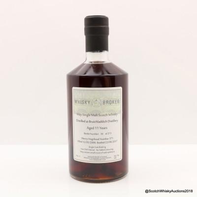 Bruichladdich 2006 11 Year Old Whisky Broker