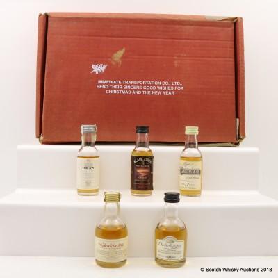 Taste of Scotland Classic Malt Whisky Minis 5 x 5cl