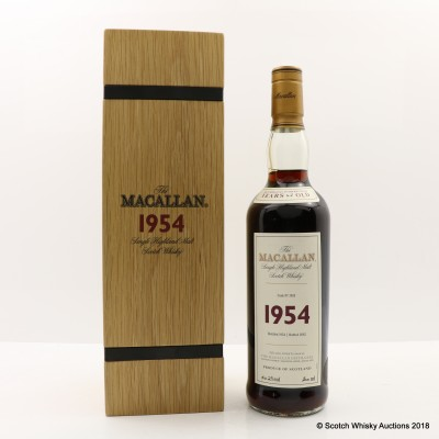 Macallan Fine & Rare 1954 47 Year Old