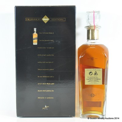 Johnnie Walker Millennium Edition Black Label