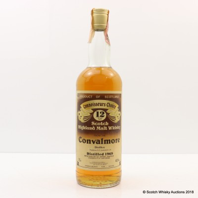 Convalmore 1969 12 Year Old Connoisseurs Choice 75cl