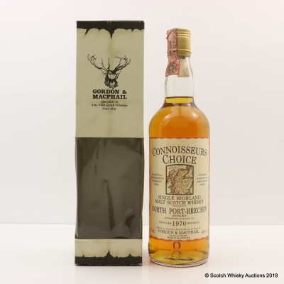 North Port (Brechin) 1970 Connoisseurs Choice 75cl