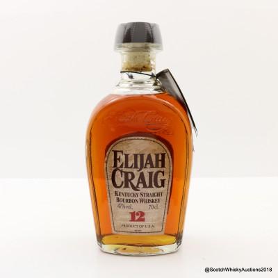 Elijah Craig 12 Year Old