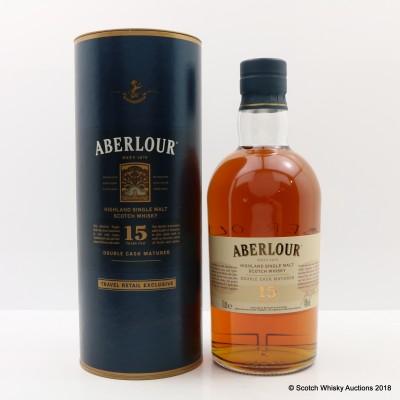 Aberlour 15 Year Old Travel Retail Exclusive 1L