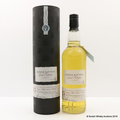 Highland Park 1988 15 Year Old A.D. Rattray