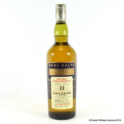 Rare Malts Dailuaine 1973 22 Year Old 75cl
