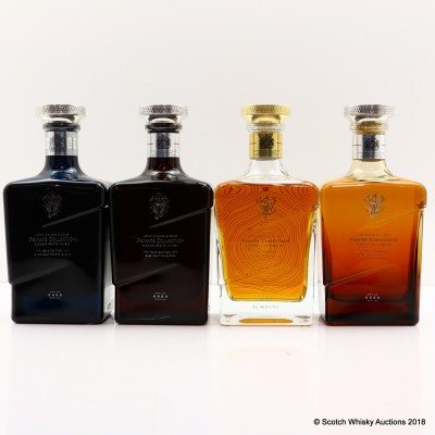 Johnnie Walker Private Collection 4 x 70cl