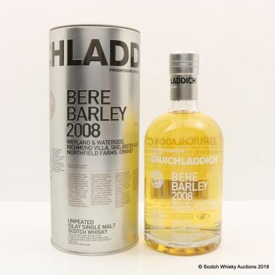 Bruichladdich Bere Barley 2008 Weyland & Waterside