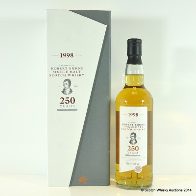Arran Robert Burns 250th Anniversary Edition 1998