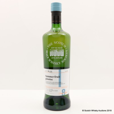 SMWS 91.22 Dufftown 2009 8 Year Old