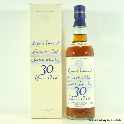 Arran Royal Island 30 Year Old Blend £90 Reserve