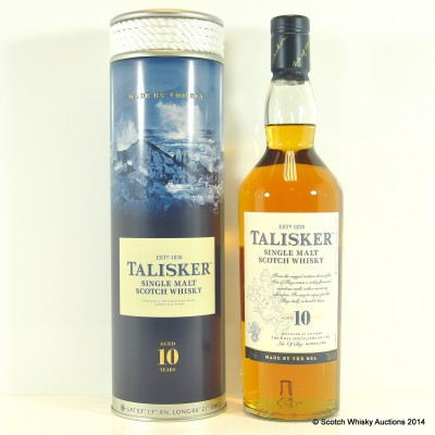 Talisker 10 Year Old In Rope Tin