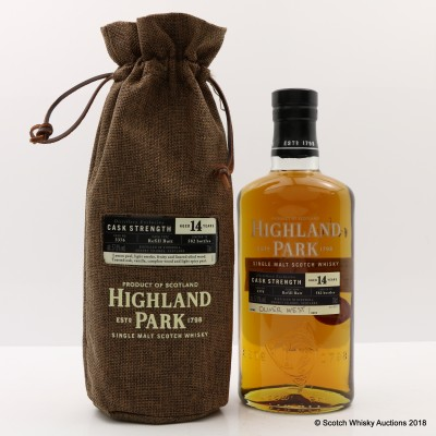 Highland Park 14 Year Old Single Cask Distillery Exclusive #3376