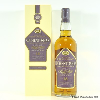 Auchentoshan 18 Year Old Limited Edition