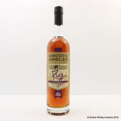 Smooth Ambler 7 Year Old Rye Old Scout