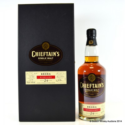 Brora 1981 24 Year Old Chieftain's