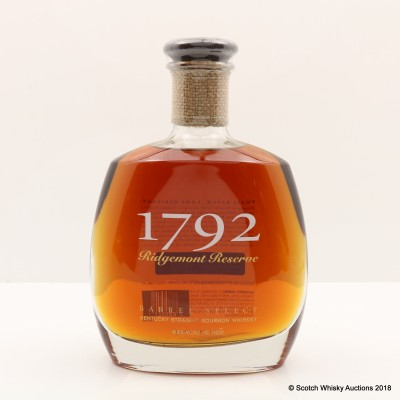 1792 Ridgemont Reserve 8 Year Old Small Batch Bourbon 75cl