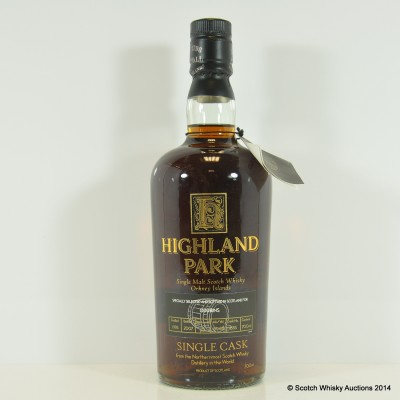 Highland Park Single Cask For Oddbins 1995