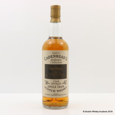 Lochside 1962 31 Year Old Cadenhead's 75cl